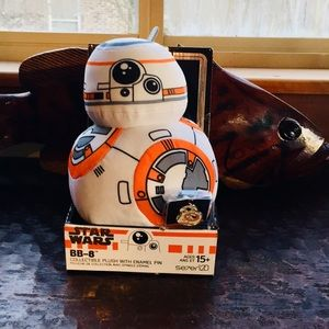 Star Wars Collectible BB-8 💎with Pin 💎 New 🏷
